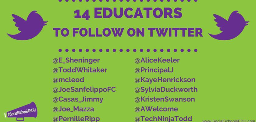 14 Educators Worth Following on Twitter