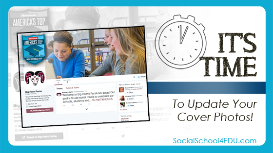 It's Time to Update Your Cover Photos!