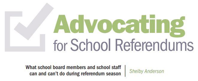 Advocating for School Referendums