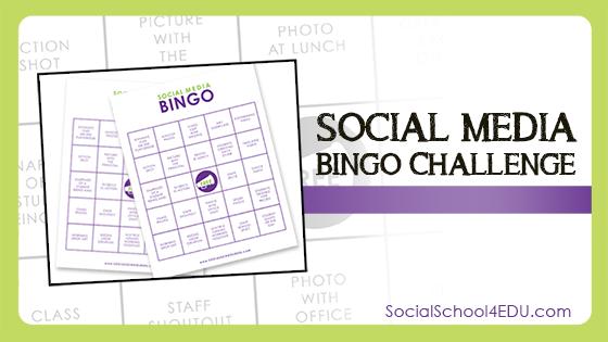 Social Media Bingo Challenge
