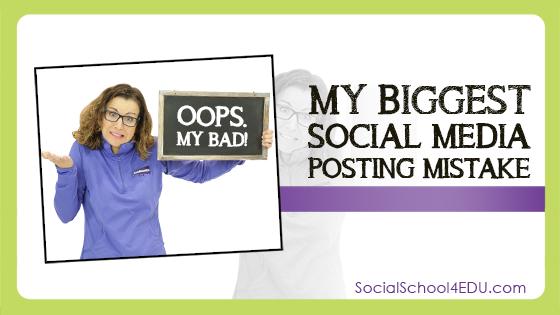 My Biggest Social Media Posting Mistake!