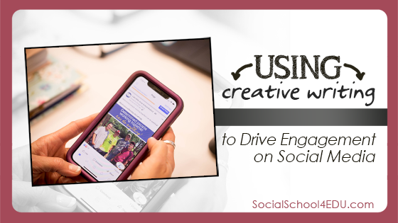 Using Creative Writing to Drive Engagement on Social Media