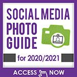 Social Media Photo Guide for 2020-21
