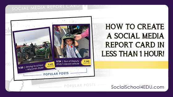 How to Create a Social Media Report Card in Less Than One Hour!