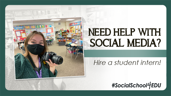 Need help with social media? Hire a student intern!