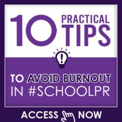 10 Practical Tips to Avoid Burnout in #SCHOOLPR
