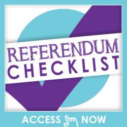Referendum Checklist for Social Media