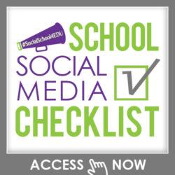 School Social Media Checklist