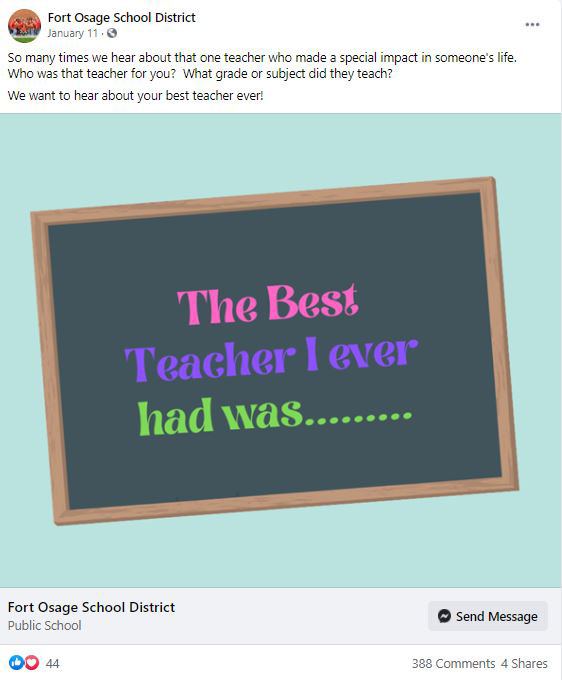 Give Your Teachers Some Love With This Simple Post!