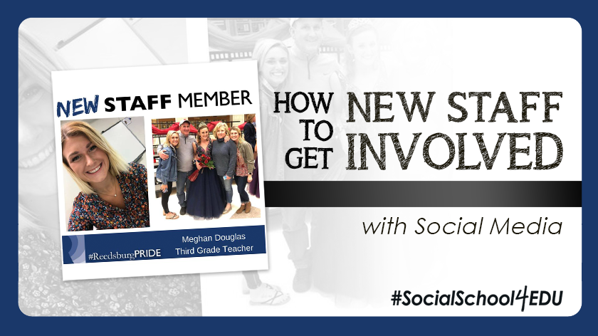 How to Get New Staff Involved with Social Media